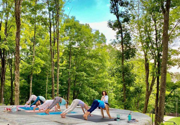 CK Yoga for Kids at Spring Hill Vineyard