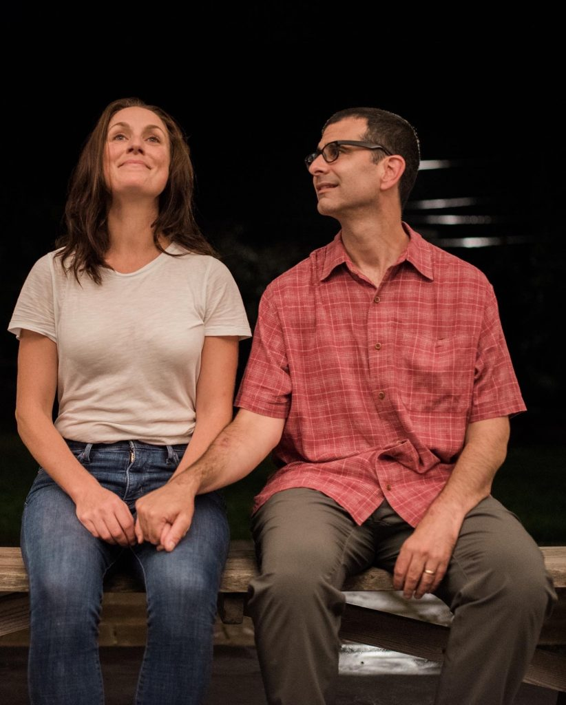 """""""Almost, Maine"""" starring John Cariani, with Kent Burnham and Beth Harvison"""